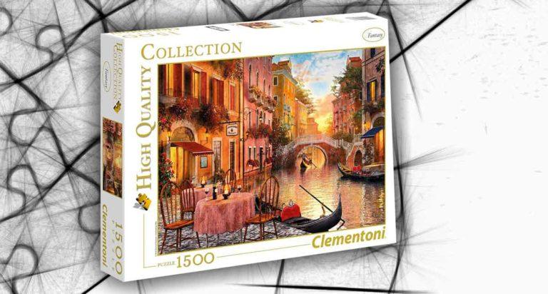 Venezia, uno spettacolare puzzle da 1500 pezzi
