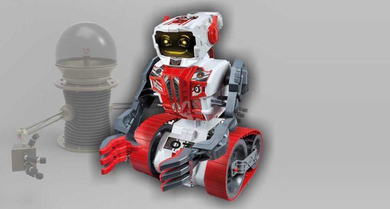 Clementoni Evolution, un robot educativo da assemblare e programmare