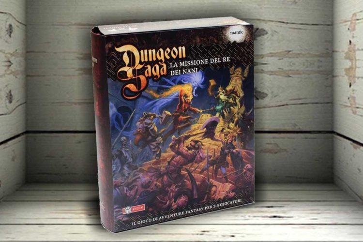 dungeon saga missione re nani