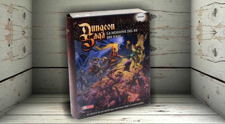 Dungeon Saga – la Missione del Re dei Nani, un classico dungeon crawler