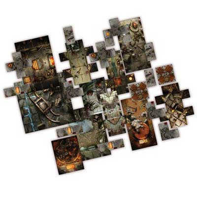 dungeon saga plancia componibile