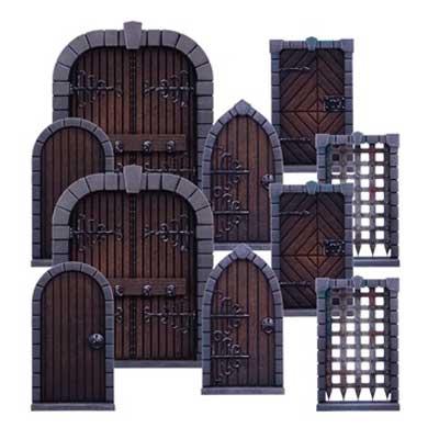 dungeon saga porte