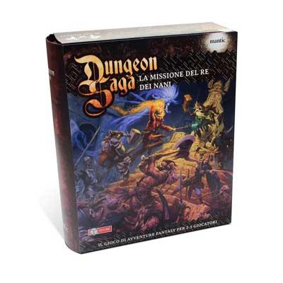 Dungeon Saga - la Missione del Re dei Nani