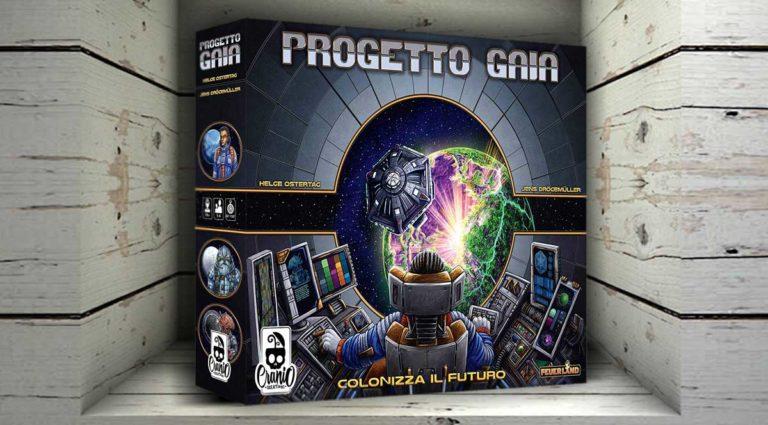 Progetto Gaia, un gestionale e strategico gioco da tavola di fantascienza