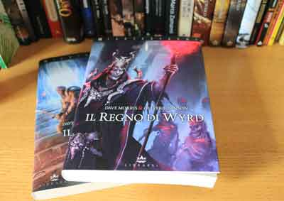 blood sword regno wyrd copertina