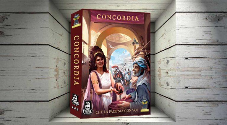 Concordia un gioco da tavolo economico e commerciale nell'antica Roma