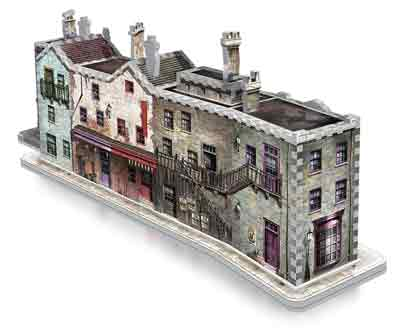 diagon alley puzzle 3d