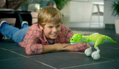 dinosauro robot bambino