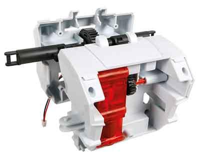 evolution robot motore