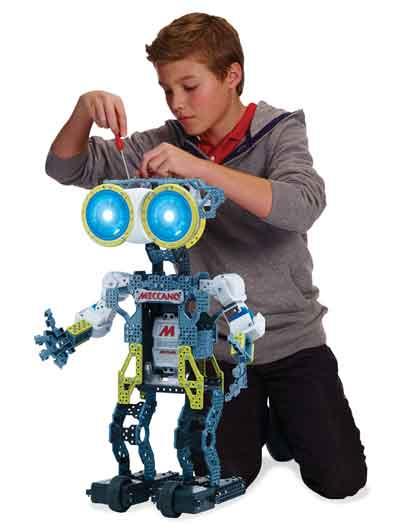 meccanoid g15 robot assemblare