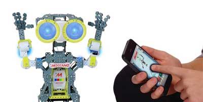 meccanoid g15 robot interfaccia app