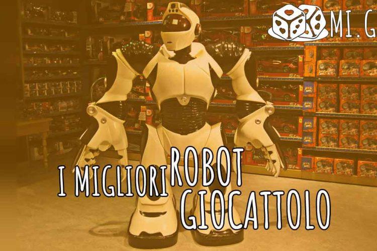 migliori robot giocattolo