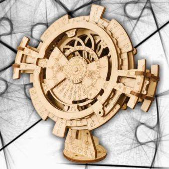 orologio perpetuo puzzle 3D