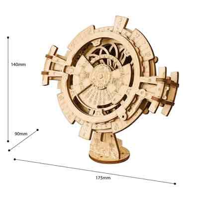 puzzle 3D calendario perpetuo