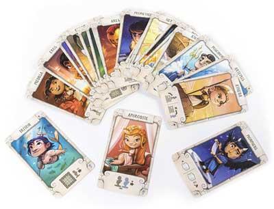 santorini carte dei