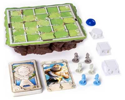 santorini contenuto scatola