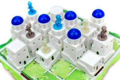 santorini gioco scatola