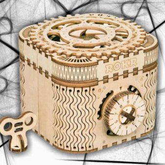 scatola segreti puzzle 3D