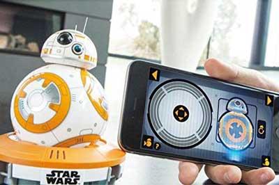 sphero BB8 robot giocattolo comandi