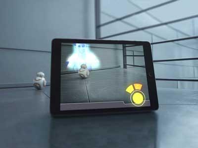 sphero BB8 robot giocattolo star wars