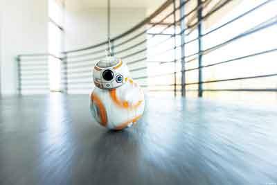 sphero BB8 robot giocattolo