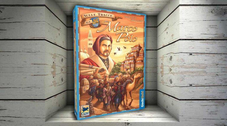 Sulle tracce di Marco Polo, un gioco da tavolo di mercanti e commercio