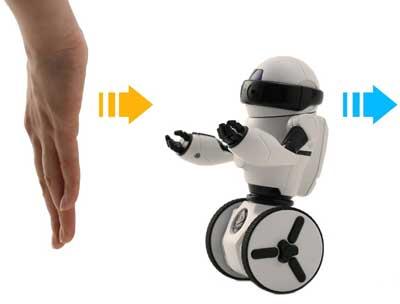 wowwee mip robot giocattolo comandi movimenti