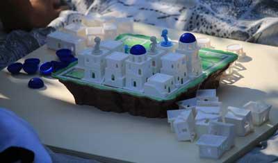 santorini gioco tavolo