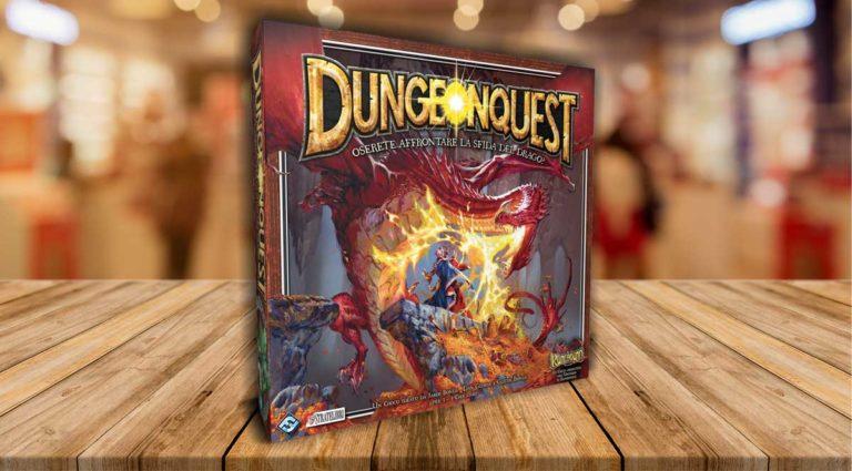 DungeonQuest uno storico gioco da tavolo di avventura fantasy