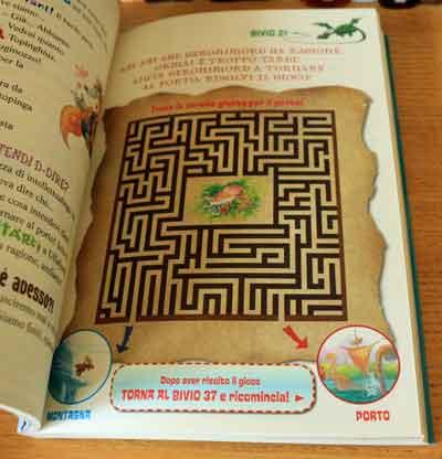 labirinto librogame geronimo stilton