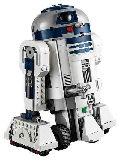 lego star wars robot RD2D2