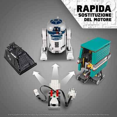 lego star wars robot motore