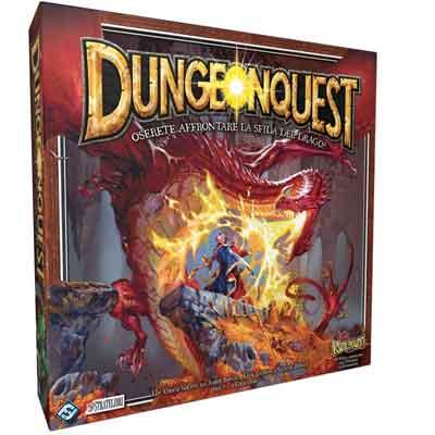 migliore gioco tavolo dungeon quest