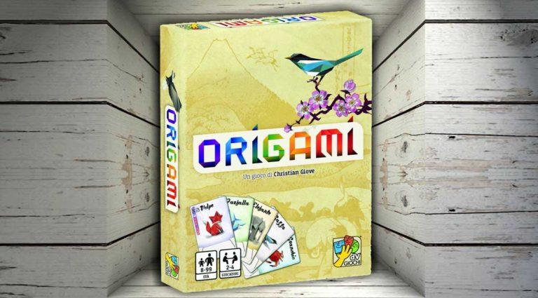 Origami, un tascabile gioco da tavolo di carte