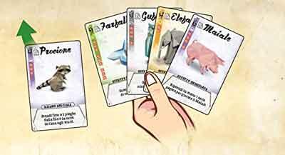 origami gioco carte