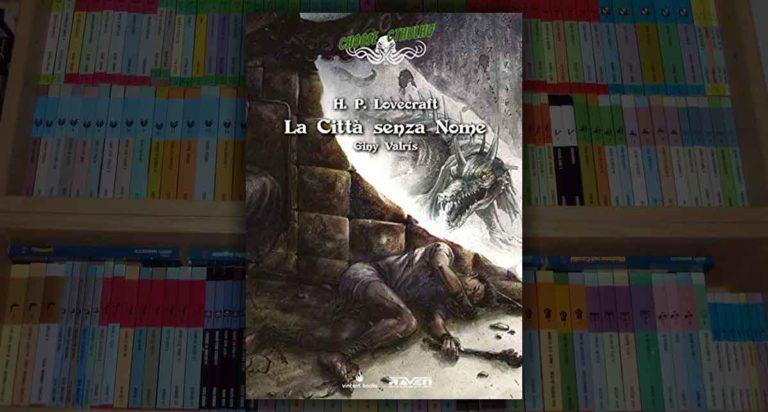 La Città senza Nome, un librogame horror del ciclo di Lovercraft (Choose Cthulhu 4)