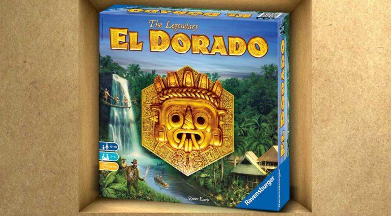 The Legendary El Dorado, un gioco da tavolo di esplorazione e strategia per famiglie