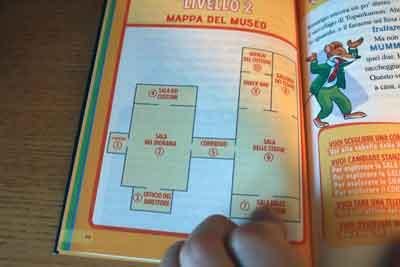 fuga museo geronimo mappa-secondo-livello