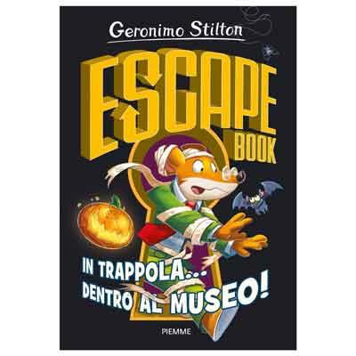 In trappola... dentro al museo! Escape book