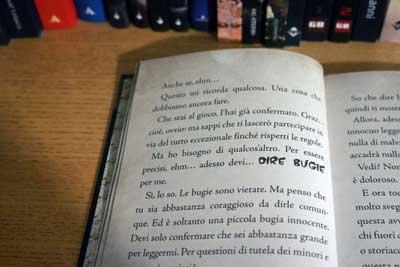 piccolo libro cattivo bugie