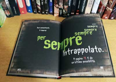 piccolo libro cattivo trappola
