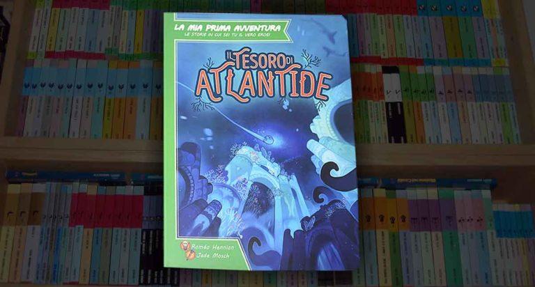 Il Tesoro di Atlantide, un librogioco per bambini di nuova concezione