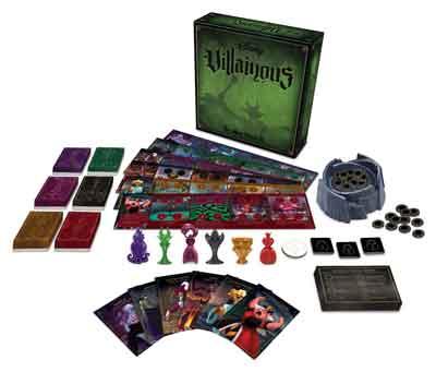 villainous contenuto scatola