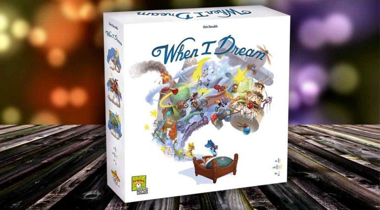 When I Dream, un gioco da tavolo da sogno (di gruppo)