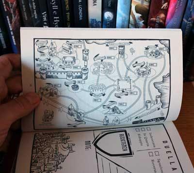 duellante stregoneria rusticana mappa