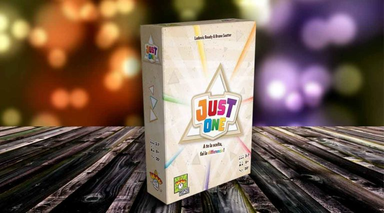 Just One, un party game cooperativo per famiglie, adulti e bambini