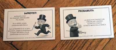 monopoly collezione casa imprevisti probabilità