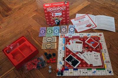 monopoly collezione materiale