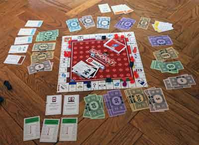 monopoly collezione partita