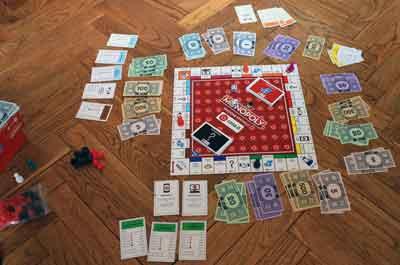 monopoly collezione set-up